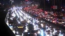 İstanbul'da trafik yoğunluğu yüzde 76'ya ulaştı