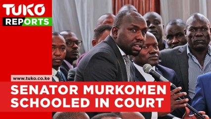 Kipchumba Murkomen 'Bad Day' in Court