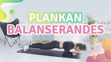 Plankan balanserandes - Steg för Hälsa