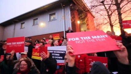Jeremy Corbyn rally Dinnington, South Yorkshire