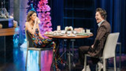Kendall Jenner Challenges Harry Styles During 'Spill Your Guts' Showdown | Billboard News