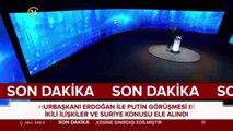 Cumhurbaşkanı Erdoğan ile Putin telefon görüşmesi