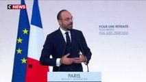 Ce qu'il faut retenir des annonces d'Edouard Philippe sur les retraites