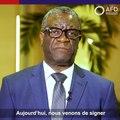 Journée des droits de l'homme avec  Denis Mukwege