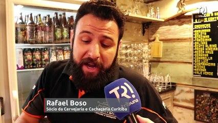 Cervejaria de Curitiba traz a famosa 'espumante de cerveja'