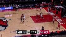 Justin Simon Posts 10 points & 10 rebounds vs. Raptors 905
