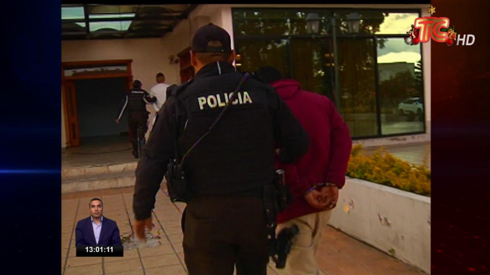 Se captura a dos intengrantes de banda delictiva en  Quito
