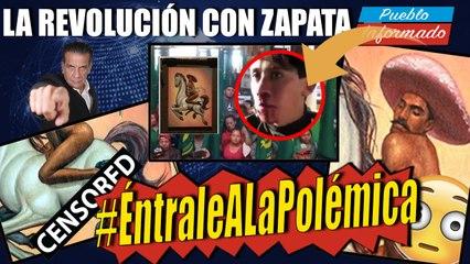 #ÉntraleALaPolémica que ha generado esta obra sobre Emiliano Zapata