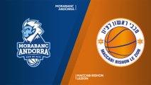 MoraBanc Andorra - Maccabi Rishon Lezion Highlights | 7DAYS EuroCup, RS Round 9