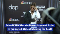 Juice WRLD Tops Chart After His Death