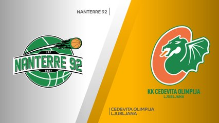 7Days EuroCup Highlights Regular Season, Round 9: Nanterre 90-87 Olimpija