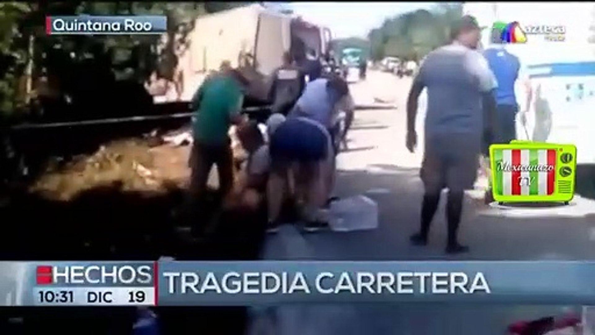 Tragedia carretera (Hechos - Azteca Trece, 2019) | Mexicanazo TV