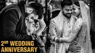 Anushka Sharma - Virat Kohli's 2nd Wedding Anniversary | Couple Showers Love For Each Other