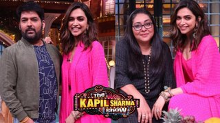 Deepika Padukone With Kapil Sharma, Meghna Gulzar On The Kapil Sharma Show   Chhapaak