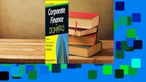 [Read] Corporate Finance for Dummies  For Free