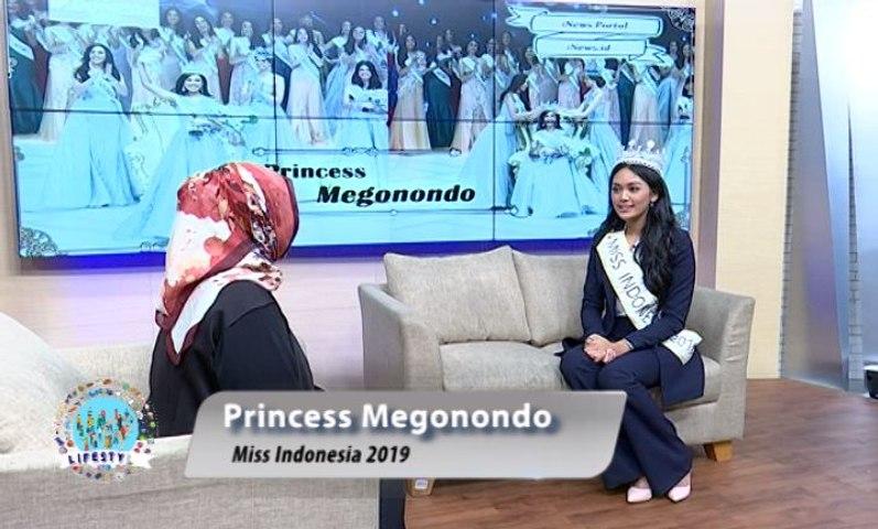 Eksklusif, Princess Megonondo Bocorkan Rencana Usai Lepas Mahkota Miss Indonesia