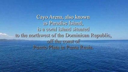 Île paradisiaque. Cayo Arena. Punta Rucia. Puerto Plata. République Dominicaine