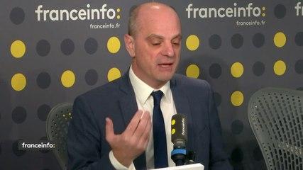 Jean-Michel Blanquer - Franceinfo jeudi 12 décembre 2019