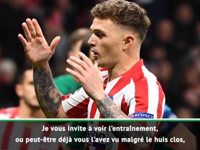 """Atlético - Simeone : """"Trippier est notre meilleur tireur de penalties"""""""