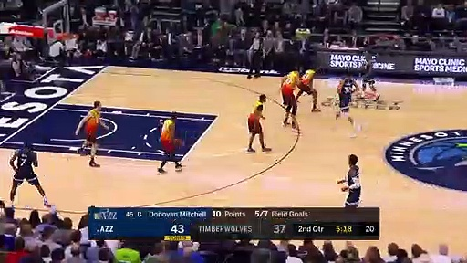 Utah Jazz 127 - 116 Minnesota Timberwolves