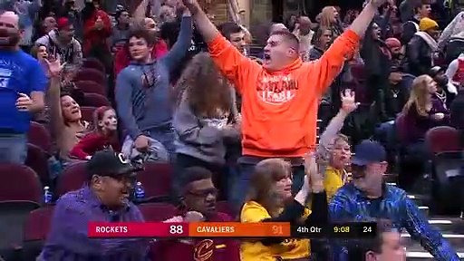 Houston Rockets 116 - 110 Cleveland Cavaliers