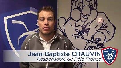 Pôle France. Interview de Jean-Baptiste Chauvin
