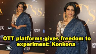 OTT platforms gives freedom to experiment: Konkona