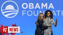 Michelle Obama and Julia Roberts on marriage