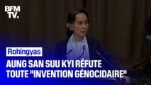 """Rohingyas: Aung San Suu Kyi réfute toute """"intention génocidaire"""""""