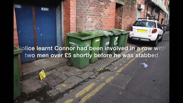 Connor Brown murder trial - Northumbria Police video