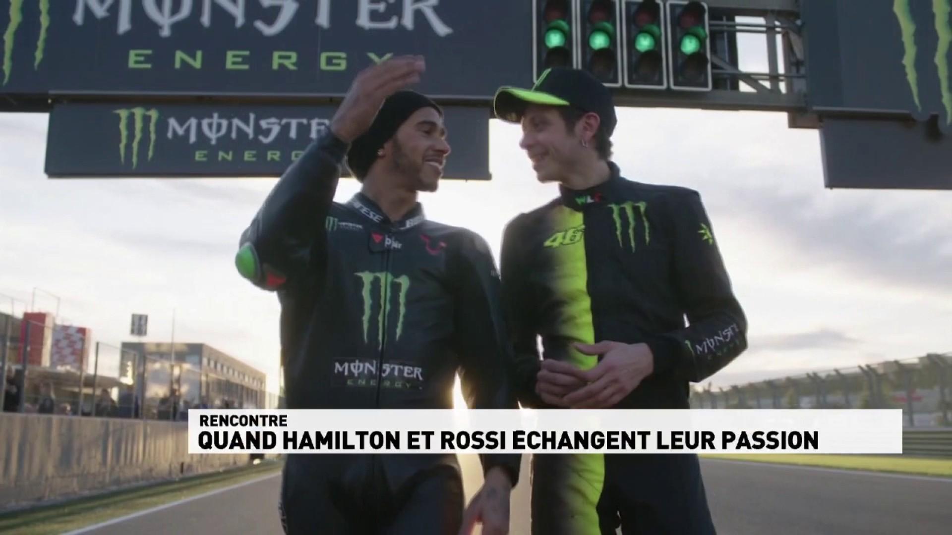 Quand Hamilton et Rossi échangent leur passion