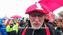 Réforme des retraites: manifestations à Nantes et Rennes