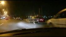 Frikë nga një lëkundje tjetër, disa qytetarë në Tiranë vendosin ta kalojnë natën në makina