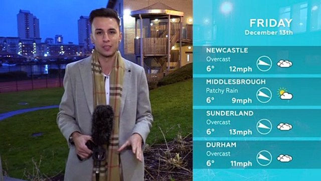 WEATHER: December 13th 2019