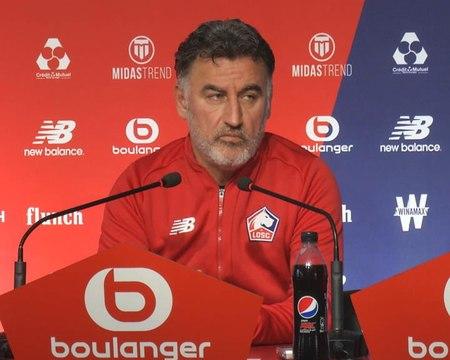 """Galtier: """"Le parcours en Ligue des champions n'est pas un échec, mais une déception"""""""