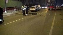 Hadımköy'de motosikletli kuryenin feci ölümü
