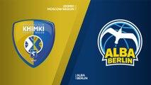 Khimki Moscow Region - ALBA Berlin Highlights | Turkish Airlines EuroLeague, RS Round 13