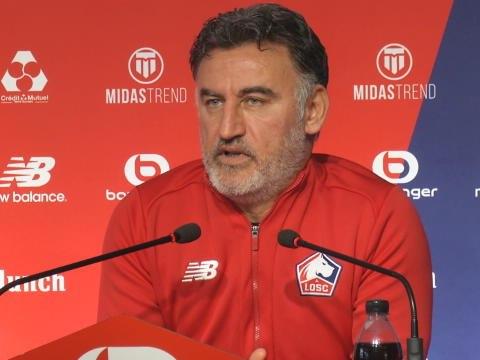 """Galtier: """"A un match par semaine, il y a des postes oú il y a un voir deux joueurs de trop dans l'effectif"""""""