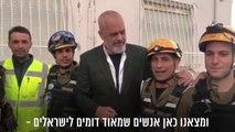 """Rama përshëndet kryeministrin e Izraelit """"Bibi Shalom"""""""