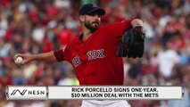 Rick Porcello Signs New Deal With New York Mets