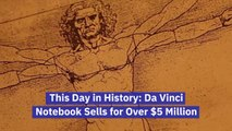 This Man Bought The Da Vinci Notebook
