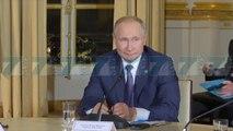 ARMEPUSHIM MES RUSISE E UKRAINES,  PUTIN E ZELENSKI NE PARIS - News, Lajme - Kanali 7