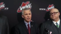 WHL U.S. Challenge Cup: Opening Press Conference