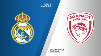EuroLeague 2019-20 Highlights Regular Season Round 13 video: Madrid 93-77 Olympiacos