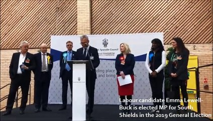 General Election 2019: Labour's Emma Lewell Buck re-elected as MP for South Shields