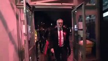 Jeremy Corbyn arrives for Islington North count