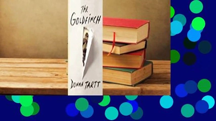 Online The Goldfinch For Kindle