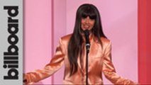 Jameela Jamil Presents Taylor Swift With Woman of the Decade Award   Women In Music 2019