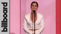 Lauren Jauregui Presents Rosalía With Rising Star Award   Women In Music 2019