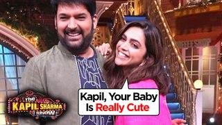 Deepika Padukone FIRST REACTION On Kapil Sharma's Baby Girl   Chhapaak   The Kapil Sharma Show